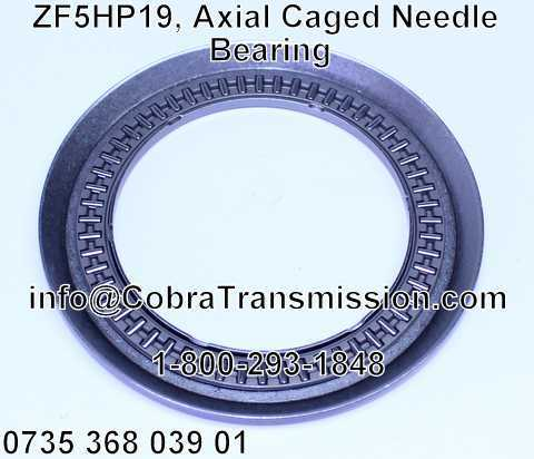 ZF5HP19, Axial Caged Needle Bearing