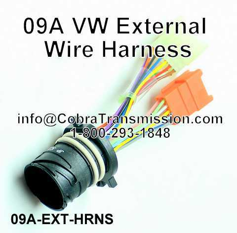 0AVWExternalWireHarness solenoid, sensor , cobra transmission Wire Harness Assembly at nearapp.co