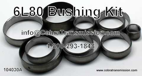 Bushing Kit, 6L80