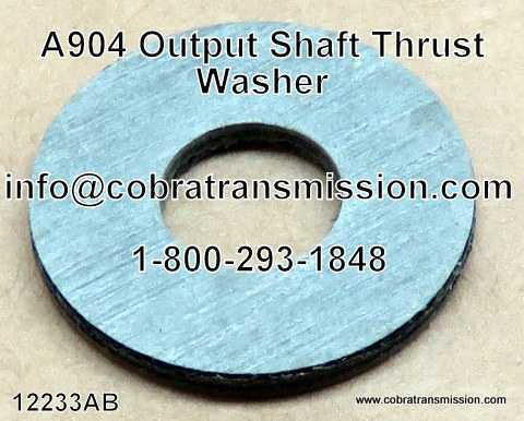 A904 (TF6) Output Shaft Thrust Washer