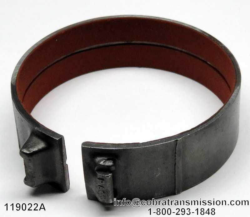 Brake Band, BW-T35TB, BW-T37TB Front (Hard)