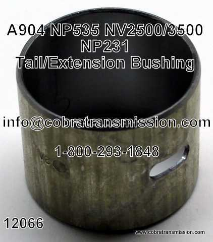 NP 231, Bushing, Tail Housing