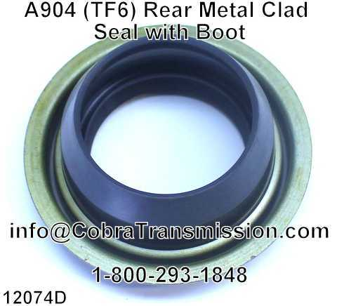 A904 (TF6) Rear Metal Clad Seal with Boot