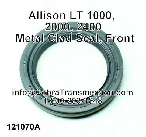 Allison LT 1000, 2000, 2400 Sello Metalico, Delantero