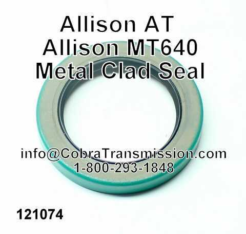 Allison MT640 Sello Metalico, Carcasa Extension