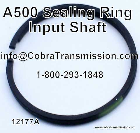 A500 Sealing Ring - Input Shaft