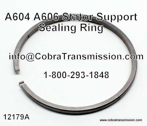 A604, A606 Sealing Ring, Stator Sup