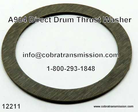 A904 (TF6) Direct Drum Thrust Washer