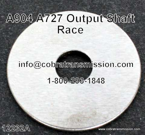 A727 (TF8) Shim, Race, Output Shaft to Forward Drum
