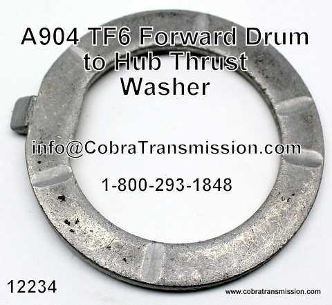 A904 (TF6) Forward Drum to Hub Thrust Washer