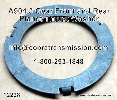 A904 (TF6) 3 Gear Front & Rear Planet Thrust Washer