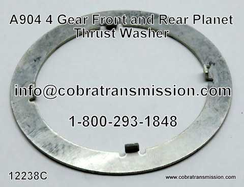 A904 (TF6) 4 Gear Front & Rear Planet Thrust Washer