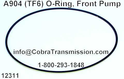 A904 (TF6) O-Ring, Front Pump