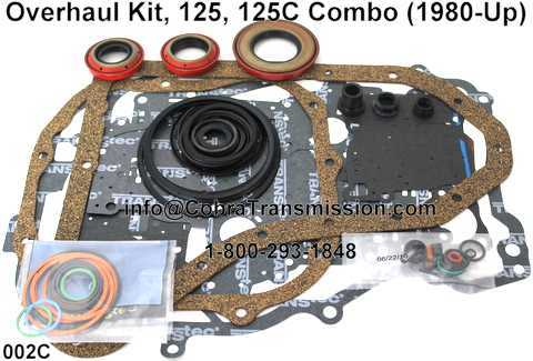 Overhaul Kit, 125, 125C Combo (1980-Up)