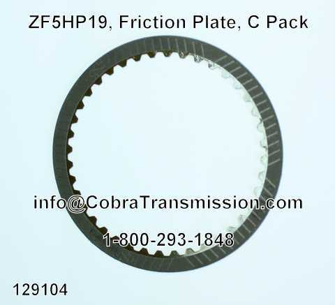 ZF5HP19, Friction Plate, C Pack