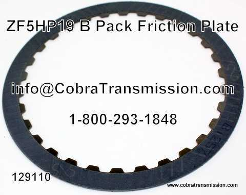 ZF5HP19, Friction Plate, B Pack