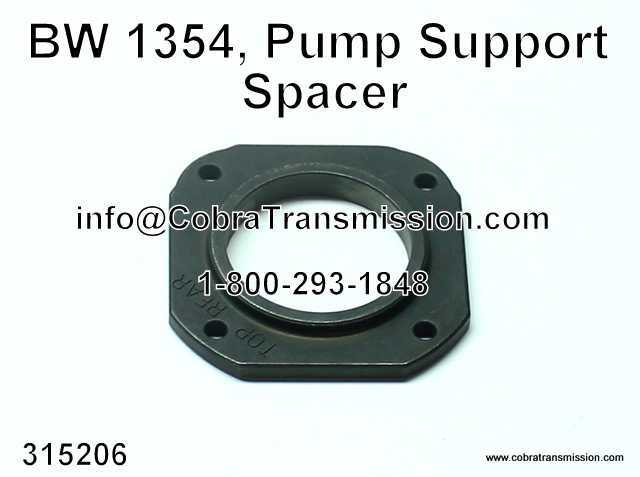 BW 1354, Pump Support Spacer