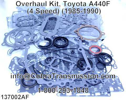 Overhaul Kit, Toyota A440F (4 Speed) (1985-1990)