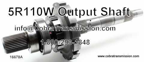 5R110W Output Shaft