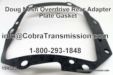 Doug Nash Overdrive, Rear Adapter Plate Gasket