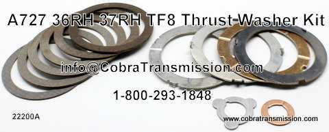 Thrust Washer Kit, A727 (36RH, 37RH)