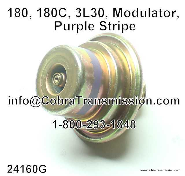 MODULATOR 180//180C PURPLE STRIPE ADJUSTABLE