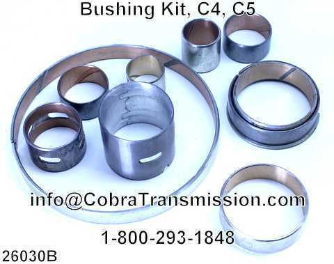 Bushing Kit, C4, C5