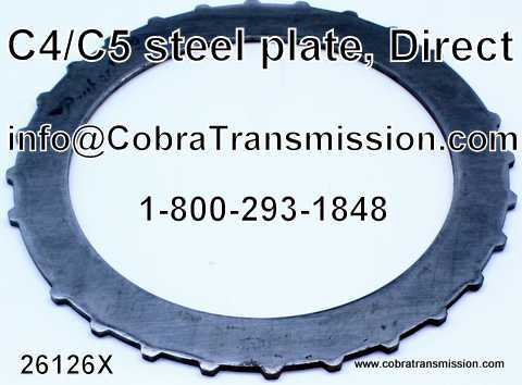 Steel Plate, Direct, C4, C5