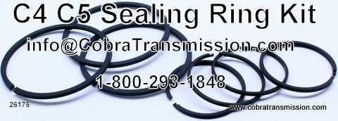 Sealing Ring Kit, C4, C5