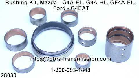 Bushing Kit, Mazda - G4A-EL, G4A-HL, GF4A-EL, Ford - G4EAT