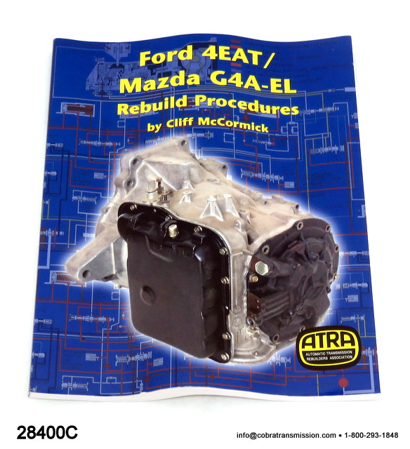 Technical - Repair Manual, Mazda F4A-EL, F4E-III, Ford F4EAT