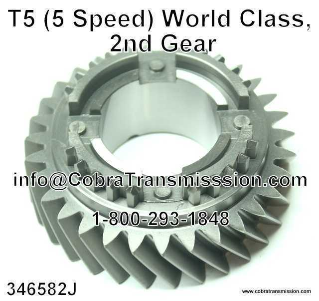 T5 (5 Speed) World Class, 2nd Gear