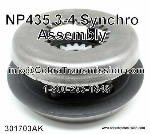 NP 435, 3-4 Synchro Assembly