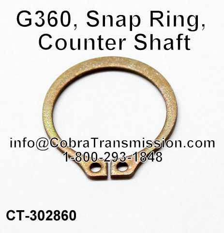 G360, Snap Ring, Counter Shaft