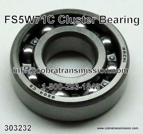 Nissan FS5W71C 4 Cylinder, Cluster Bearing