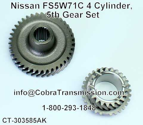Nissan FS5W71C 4 Cylinder, 5th Gear Set