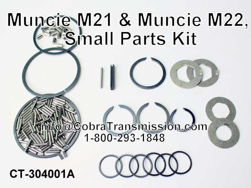 Muncie M21 & Muncie M22, Small Parts Kit