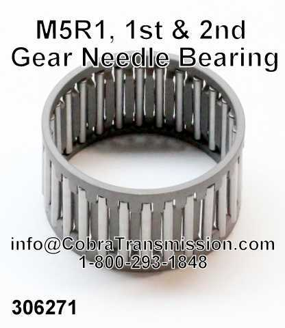 M5R1, 1st & 2nd Gear Needle Bearing