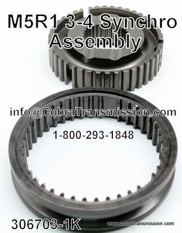M5R1, 3-4 Synchro Assembly
