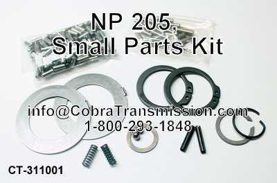 NP 205, Small Parts Kit