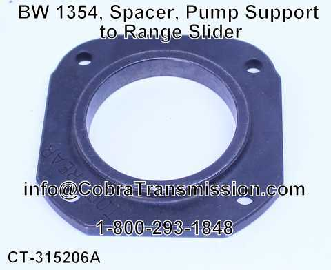 BW 1354, Spacer, Pump Support to Range Slider