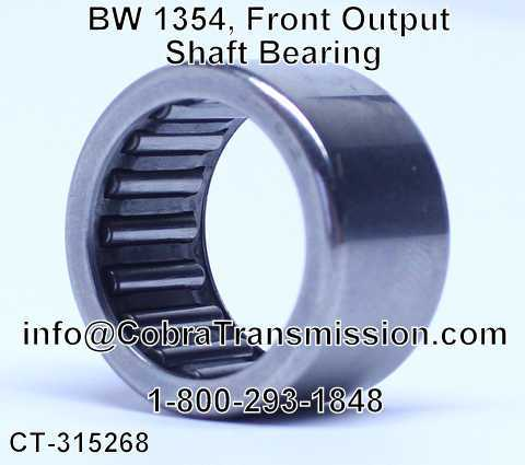 BW 1354, Front Output Shaft Bearing