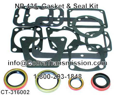 NP 435, Gasket & Seal Kit