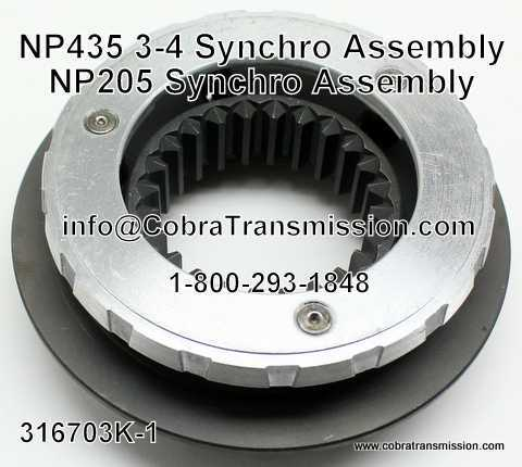 Np 435 3 4 Synchro Assembly Ct 316703k 1 43 99