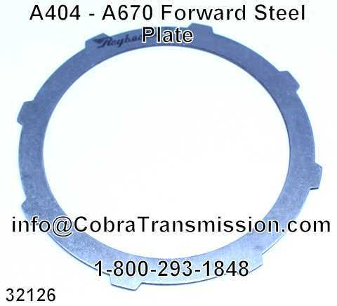 A404 - A670 Forward Steel Plate