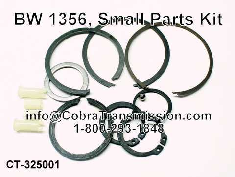 BW 1356, Small Parts Kit