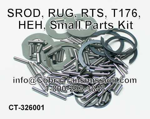 SROD, RUG, RTS, T176, HEH, Small Parts Kit