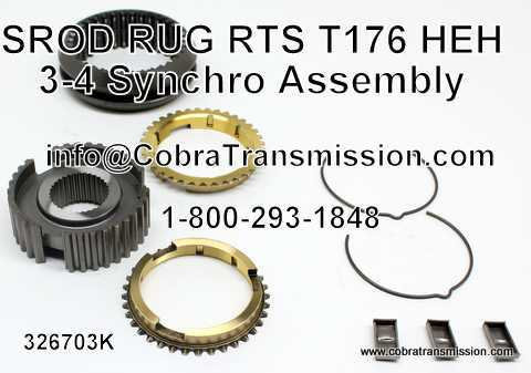 SROD, RUG, RTS, T176, HEH, 3-4 Synchro Assembly