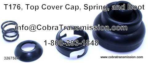 T176, Top Cover Cap, Spring & Boot