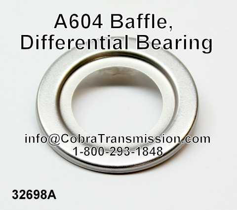A604 Baffle, Differential Bearing
